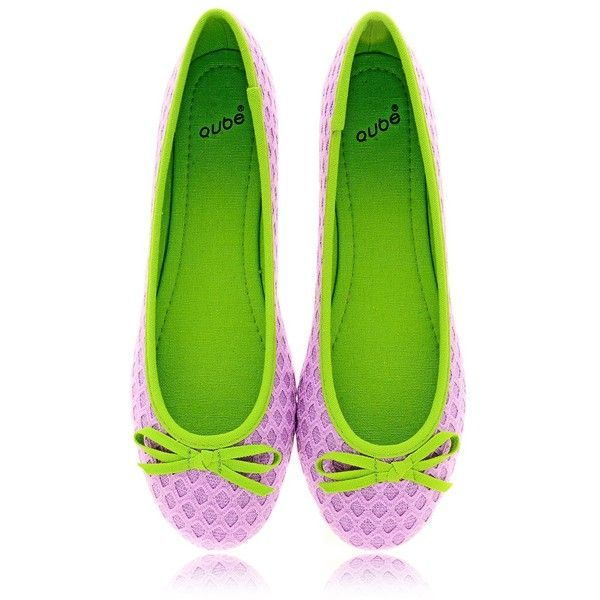 Gianvito Rossi Satin ballet flats ($600) liked on Polyvore