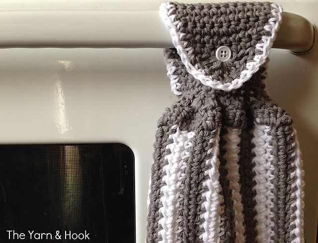 Ravelry: Contrast Kitchen Hand Towel pattern by Marie Laura   My ...