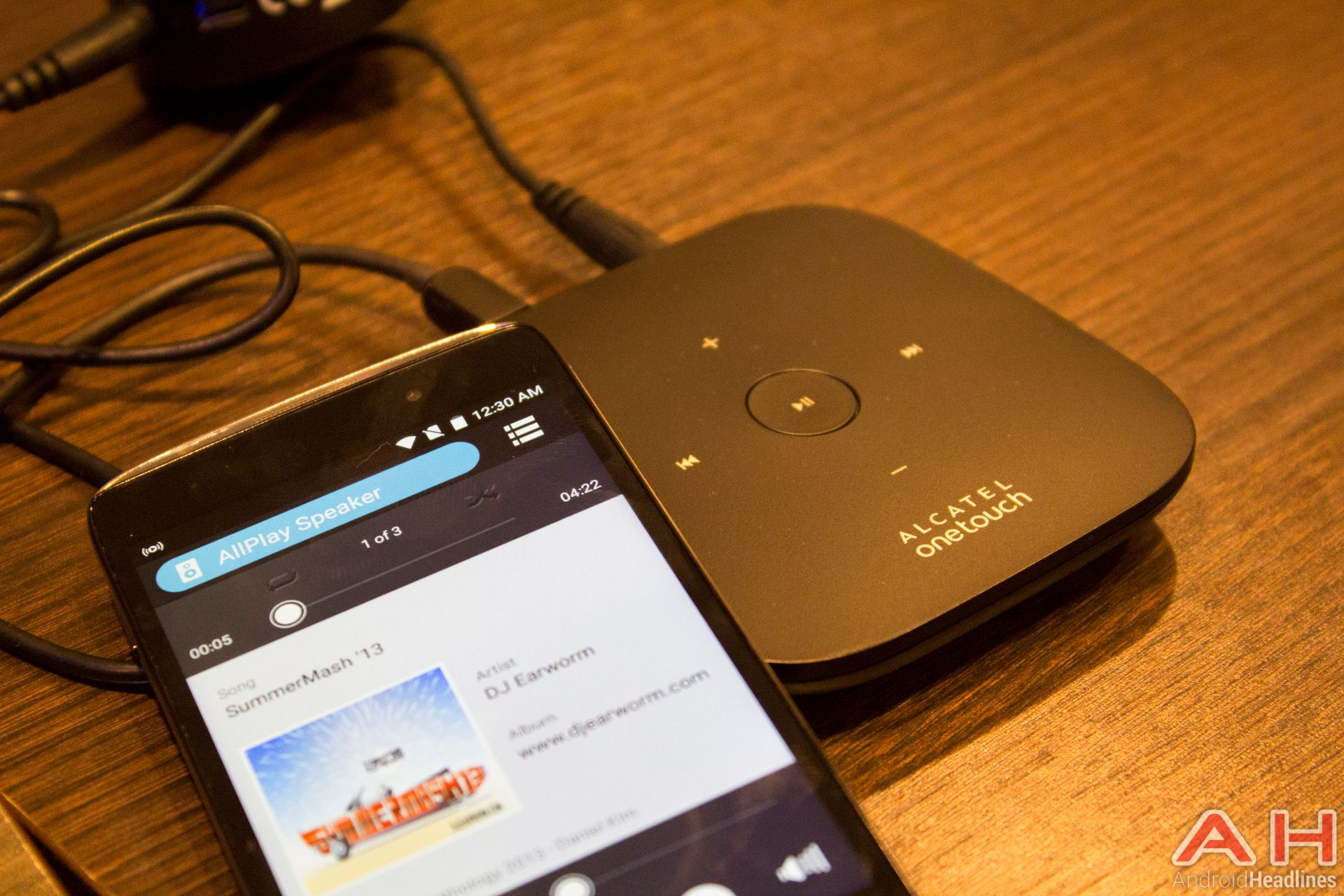 Alcatel OneTouch Reveal 4G Car WiFi and WiFi Music Box