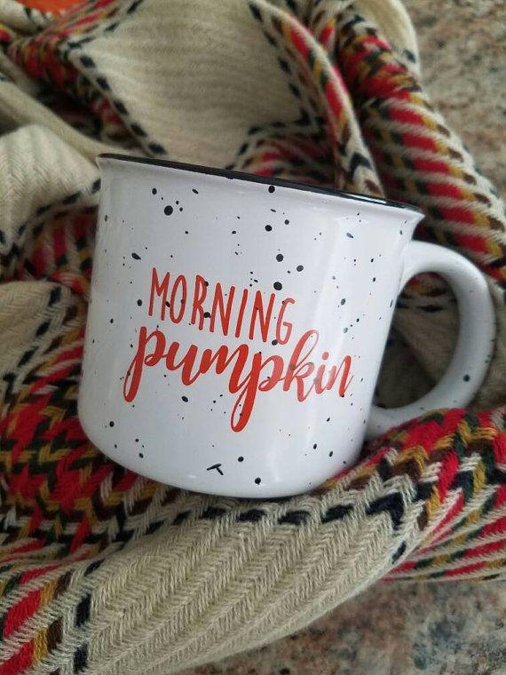 Morning Pumpkin Etsy Listing At Https Www Etsy Com Listing 482781257 Morning Pumpkin Coffee Mug Campfire Mugs Gifts Pumpkin Coffee
