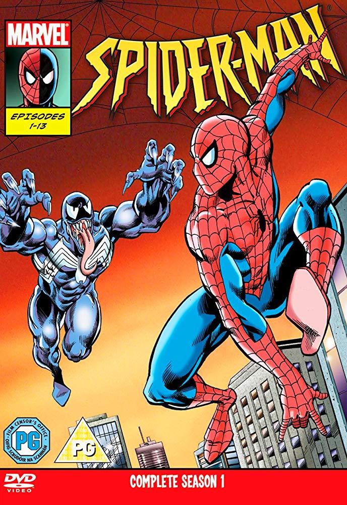 Fleer 1994 Amazing Spiderman # 3 Web-Slinging Trade Card C88