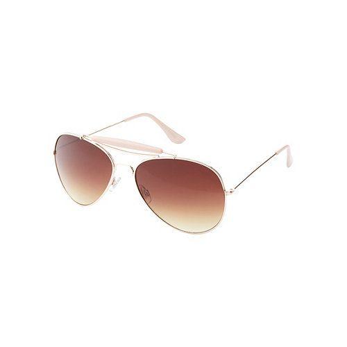 Brow Bar Aviator Sunglasses: Charlotte Russe