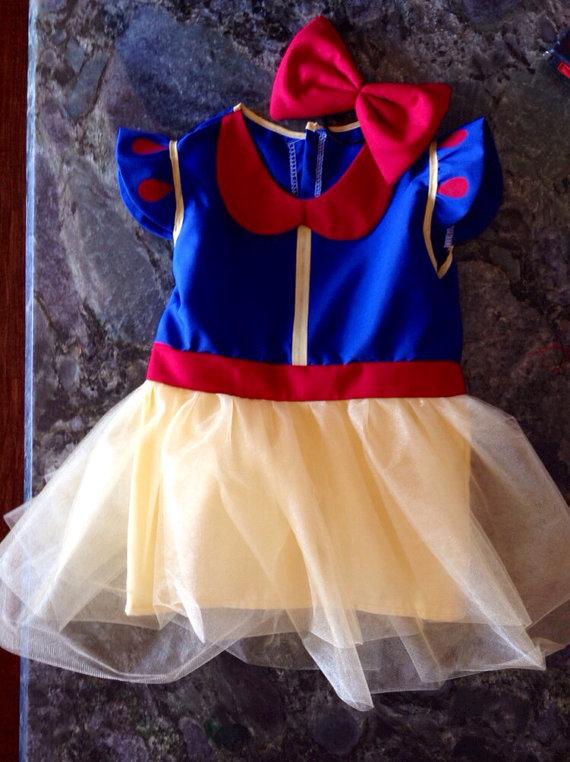 Snow White Tutu Dress/Costume~Infant/Toddler on Etsy, $29.99