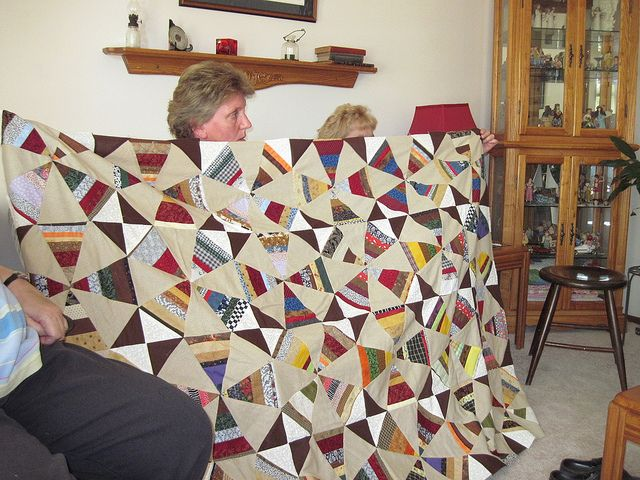 Pat's Jeanne quilt by Piecemeal Quilts, via Flickr | Quilts ... : piecemeal quilts - Adamdwight.com