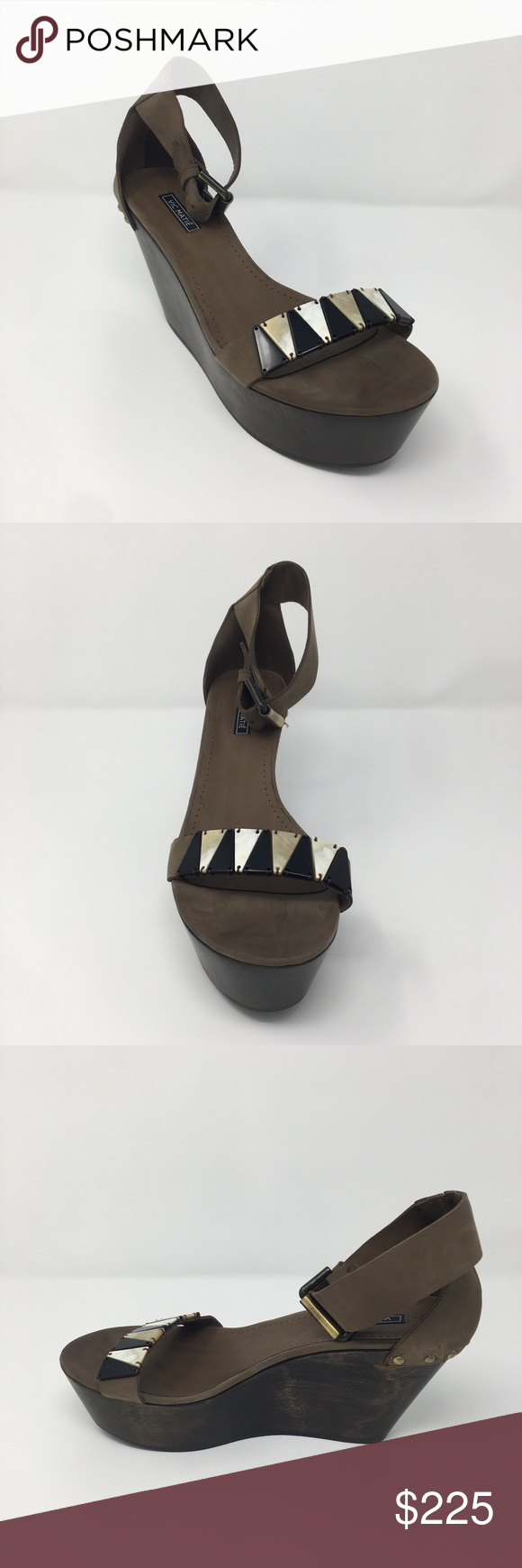 bed237e8be4 Vic Matie Malawi Wedge Trendy Highs Malawi sandals from Calypso with shell  front detailing. Cool nomadic style. BRAND NEW SIZE 10 Vic Matie Shoes  Wedges