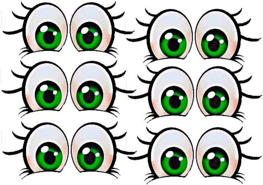 глаза картинки для гусеницы поверить