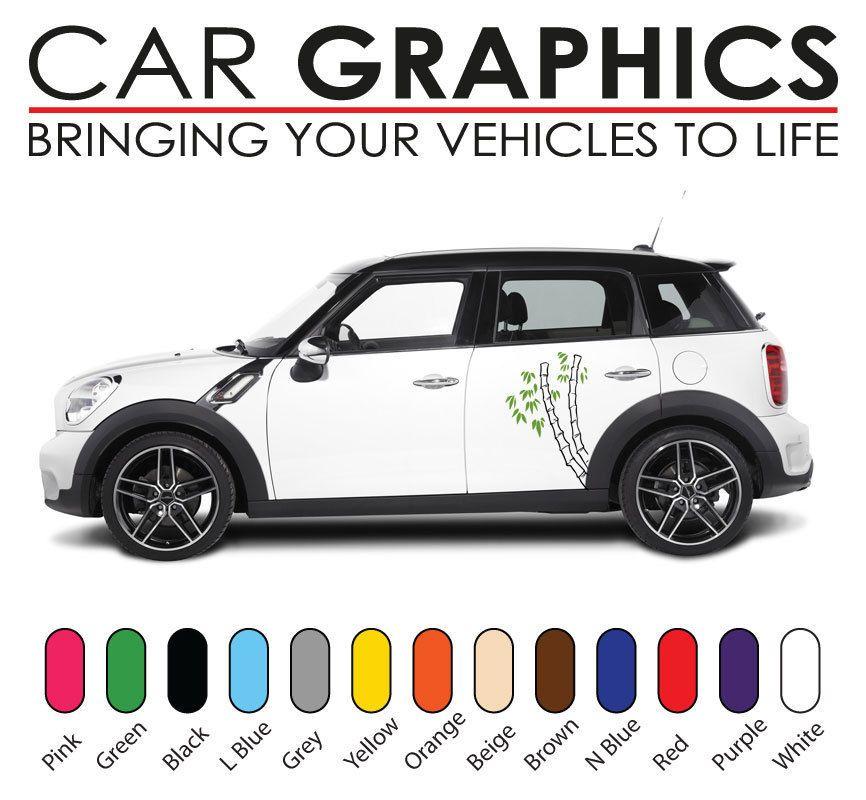 Mini Car Graphics Stripes Decals Stickers Cooper Vinyl Design Mn3