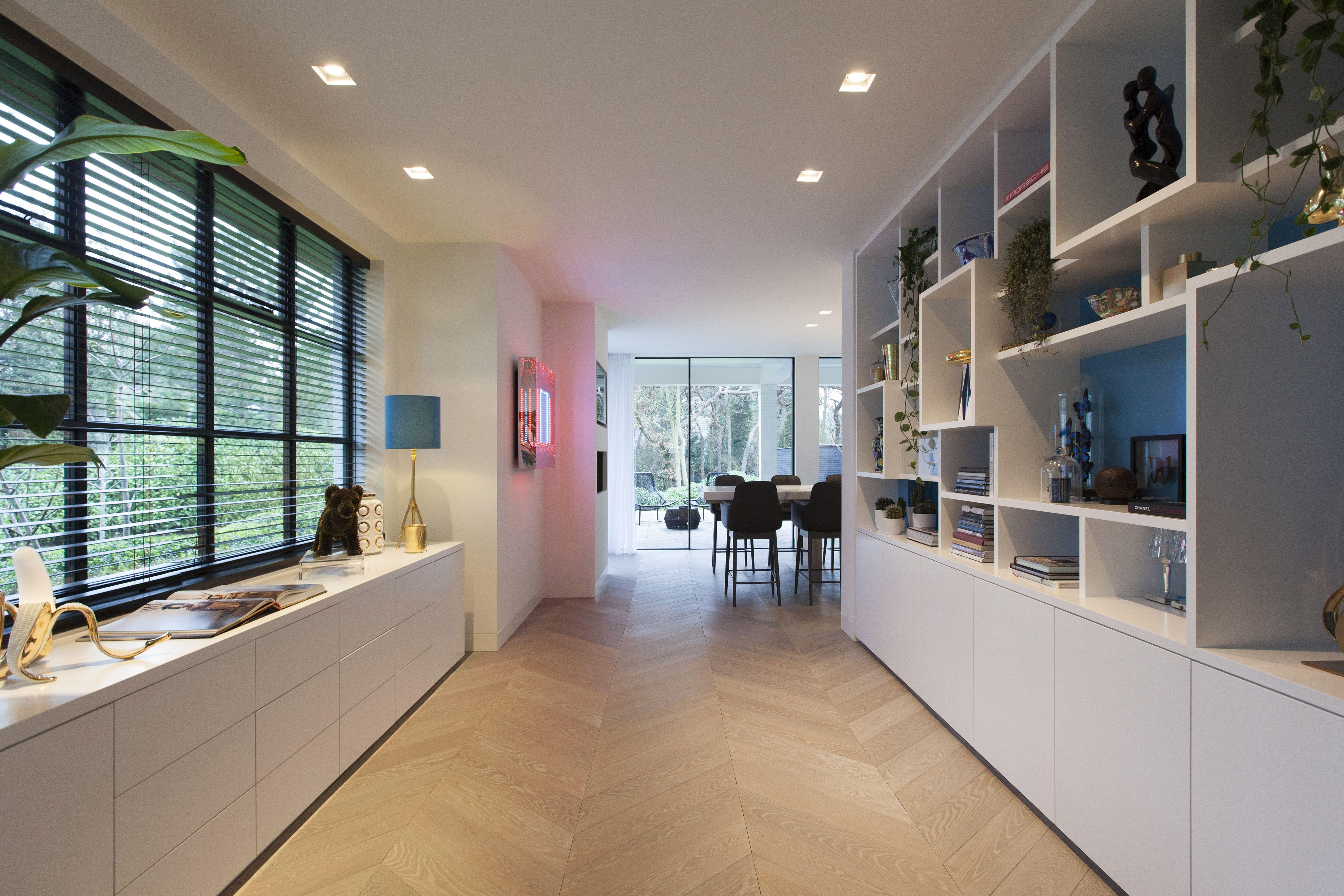 Interior villa wassenaar the netherlands. design by studio des