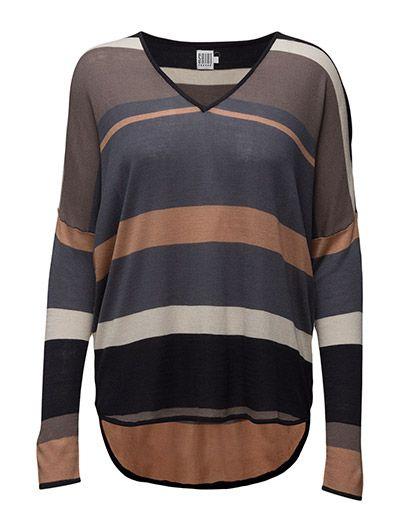 Saint Tropez Striped Sweater (O.blue) nu online te koop voor slechts 59 € bij…