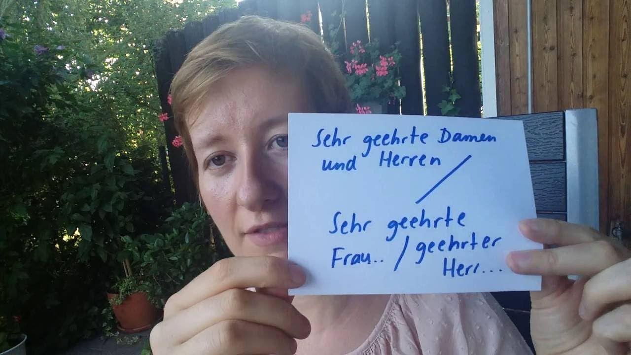 Brief Schreiben Schriftliche Prüfung B2 Telc Almanca Deutsch