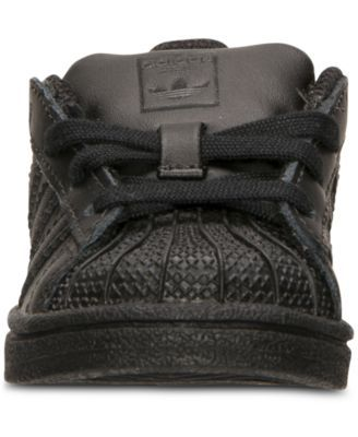 adidas Toddler Boys' Superstar Casual Sneakers from Finish Line - Black 10