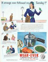Wearever Aluminum Pressure Cookers 1946 Ad Picture