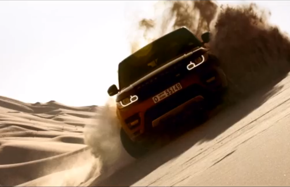 The NEW #RangeRover Sport goes where no cars have gone before, The Empty Quarter, Saudi Arabia. Click on the pic to watch it battle the toughest environments known to man!