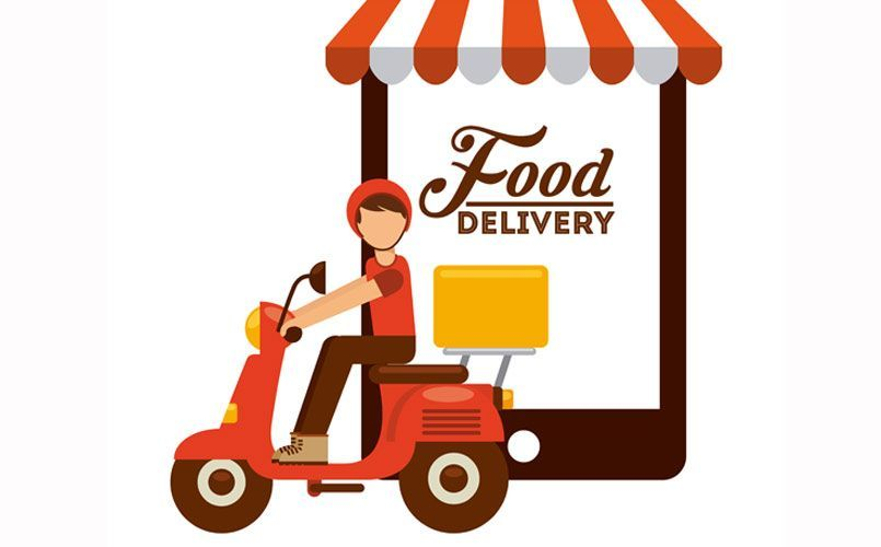 Pin On Delivery Food