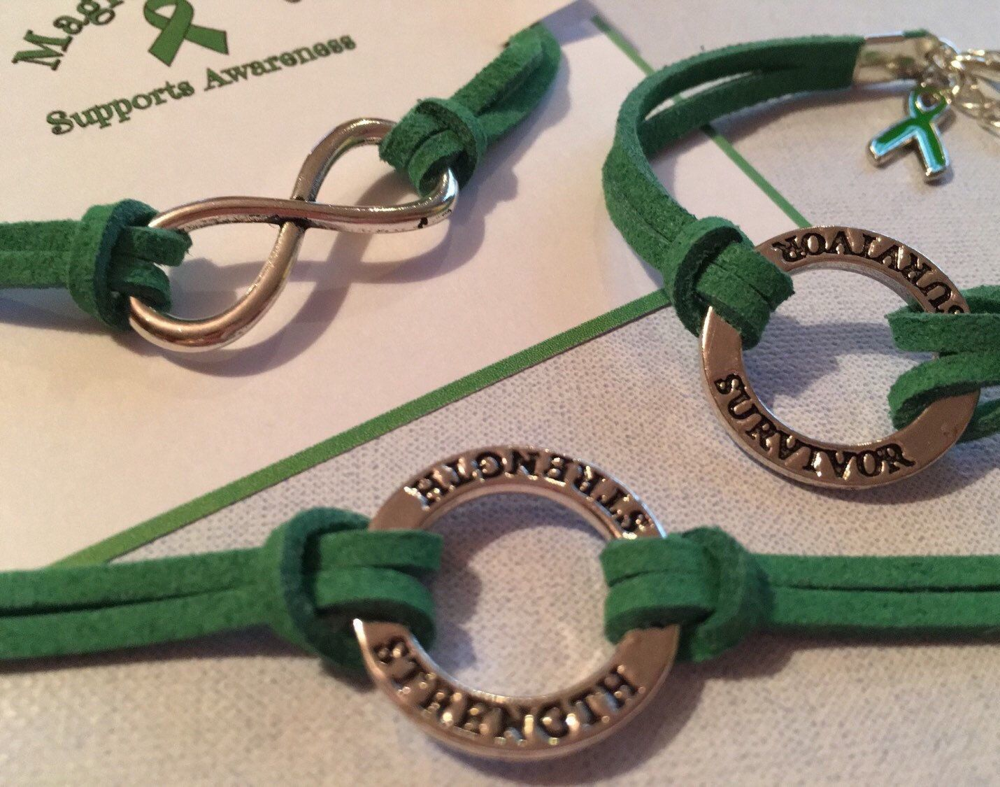 lymphoma buy green non bracelet charity mysticmoon mental health products awareness hodgkin lime