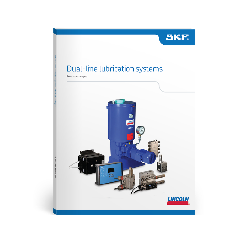 Dualline lubrication systems SKF Lincoln