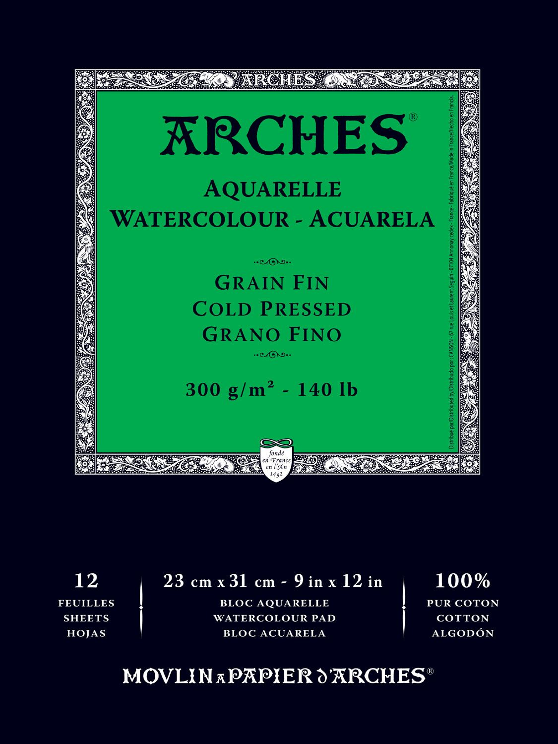Save On Discount Arches Cold Press Watercolor Paper Pads Fold