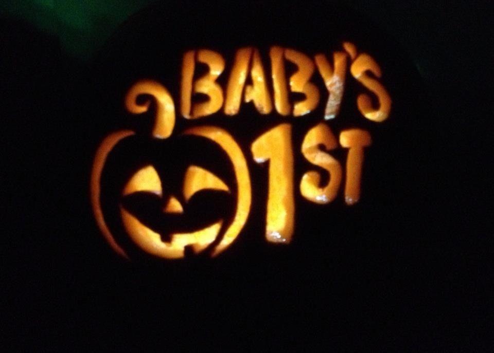 Baby s first pumpkin pumpkins pinterest holidays