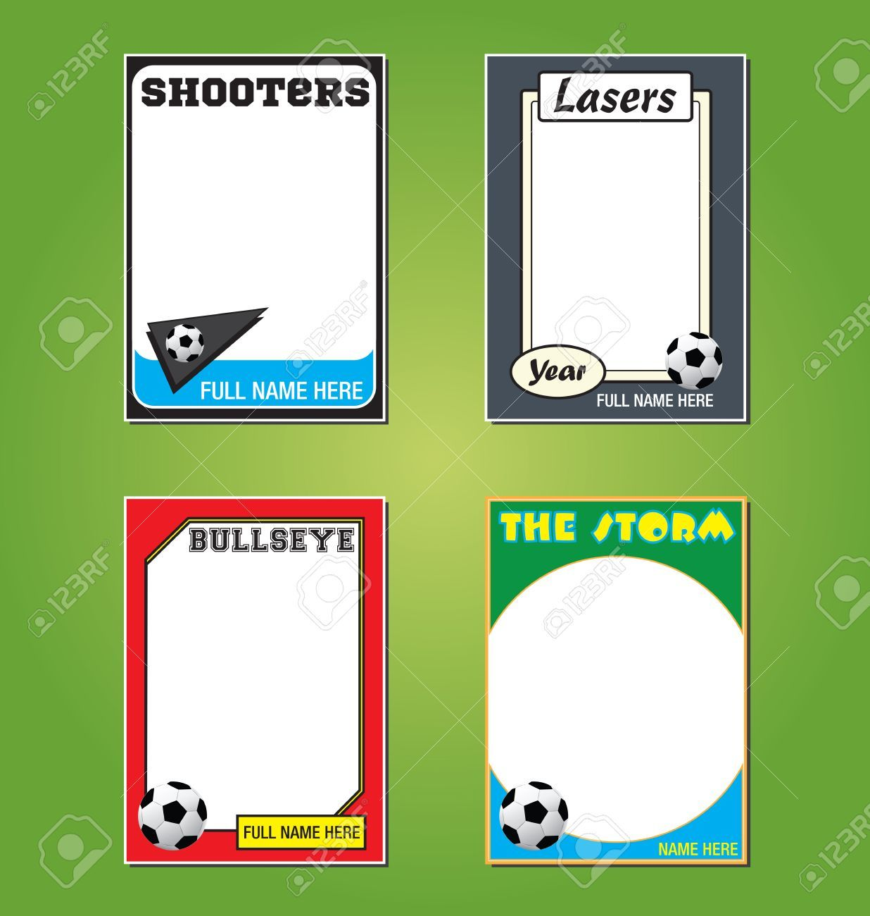 The Amazing Soccer Futbol Trading Card Picture Frames Pertaining To Soccer Trading Car Trading Card Template Medical Business Card Free Business Card Templates