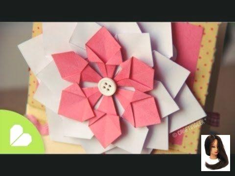 #Decorativa #design de origami #English #facil #Flor #origami #Scrapbook #subtit #videos Flor Decorativa FACIL // Scrapbook & Origami All this videos have english subtit...        Flor Decorativa FACIL // Scrapbook & Origami All this videos have english subtitles.