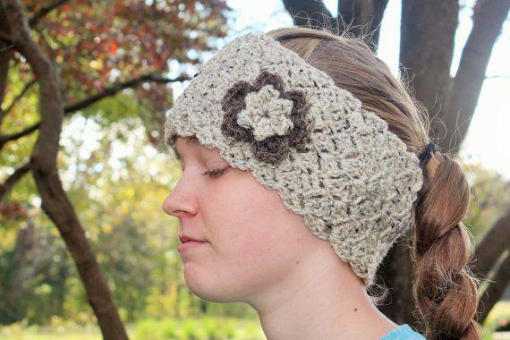 Queens Lace Crochet Ear Warmer Earwarmer by LittleMonkeyShop ...