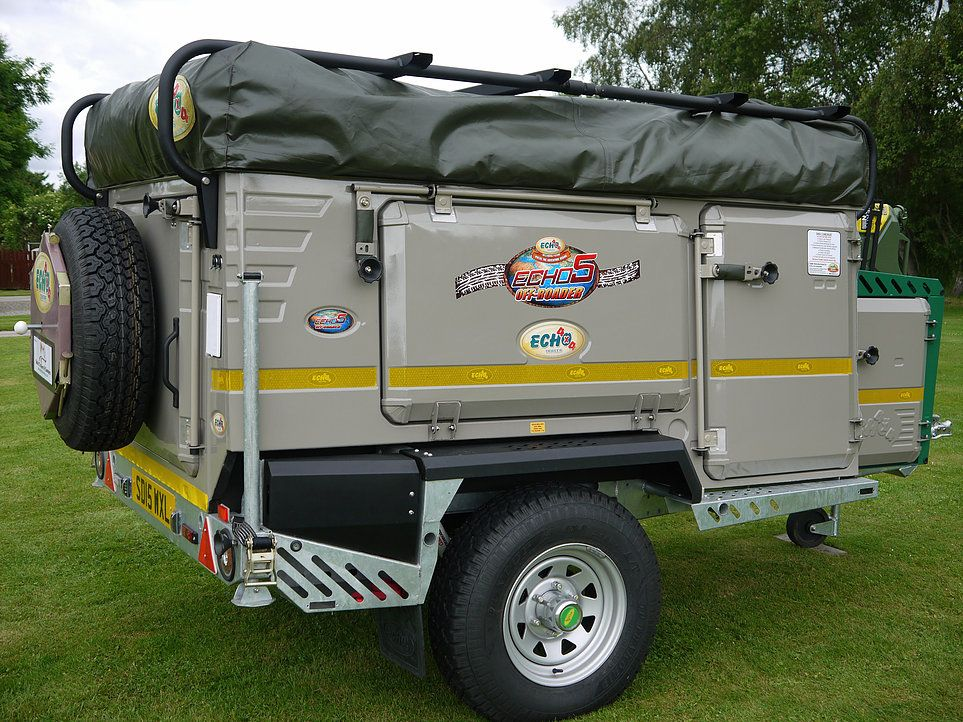 Echo 4x4 trailer tent & Echo 4x4 trailer tent | Trailer Tents | Pinterest | Trailer tent ...