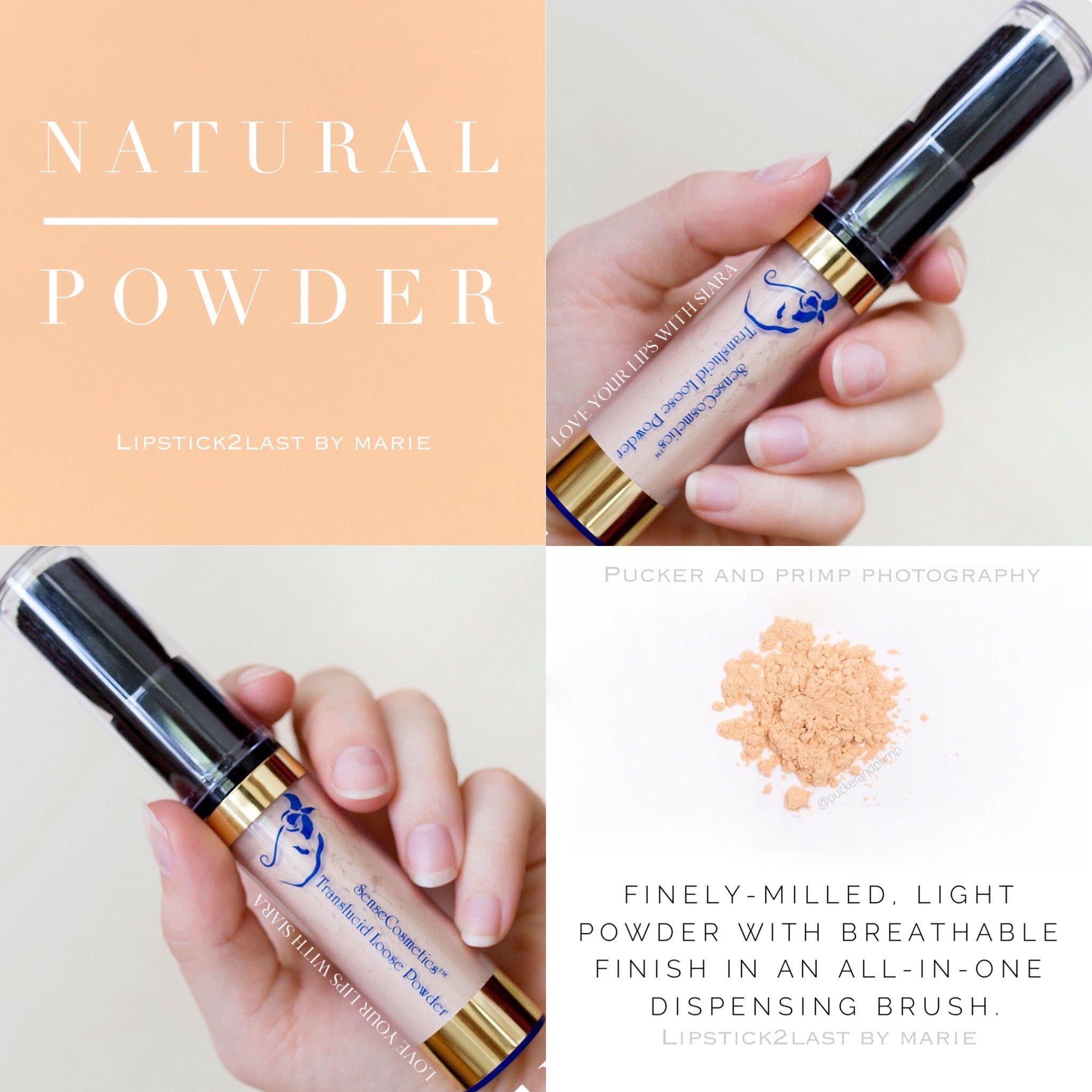 Natural Translucid Loose Powder SeneGence Senegence