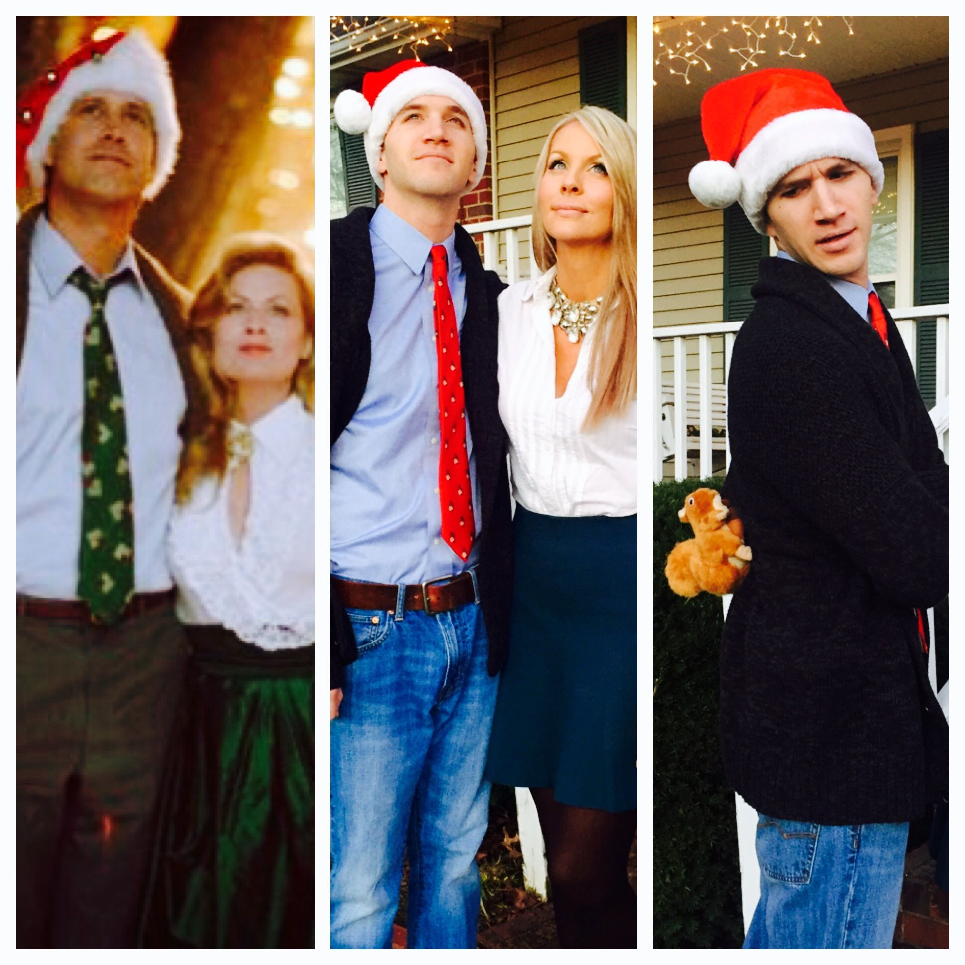Clark and Ellen Griswold Christmas Vacation Costumes! We
