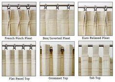 flat header sheer linen curtains - Google Search