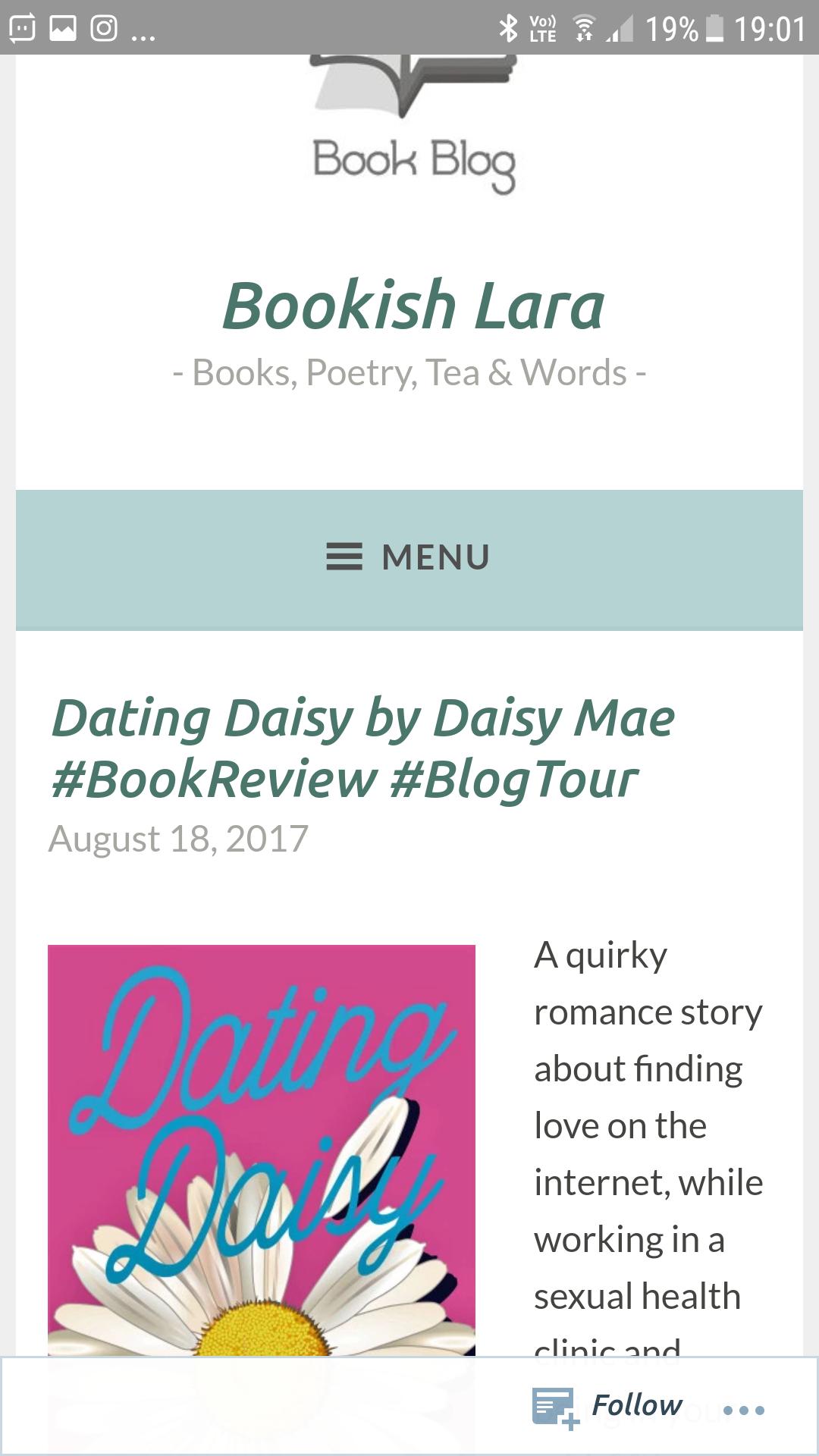 Dating Daisy blog datant femme plus âgé que vous