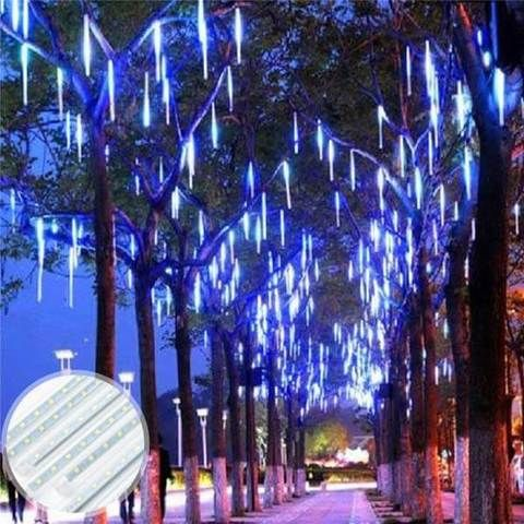 New 2nd Generation Snow Fall Led Lights Better And Brighter Led Christmas Lights Hanging Christmas Lights Christmas Lights