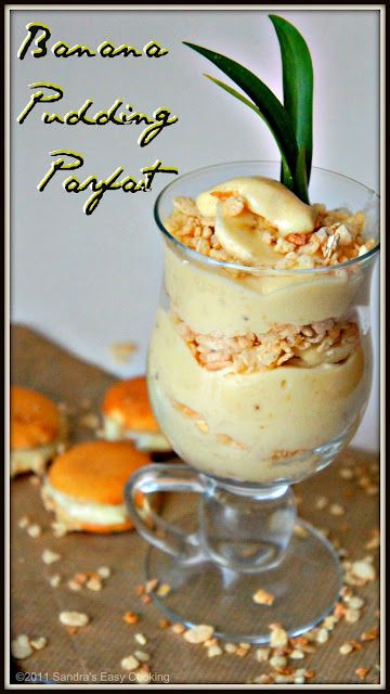 Banana Pudding Parfaits | The Baker Chick