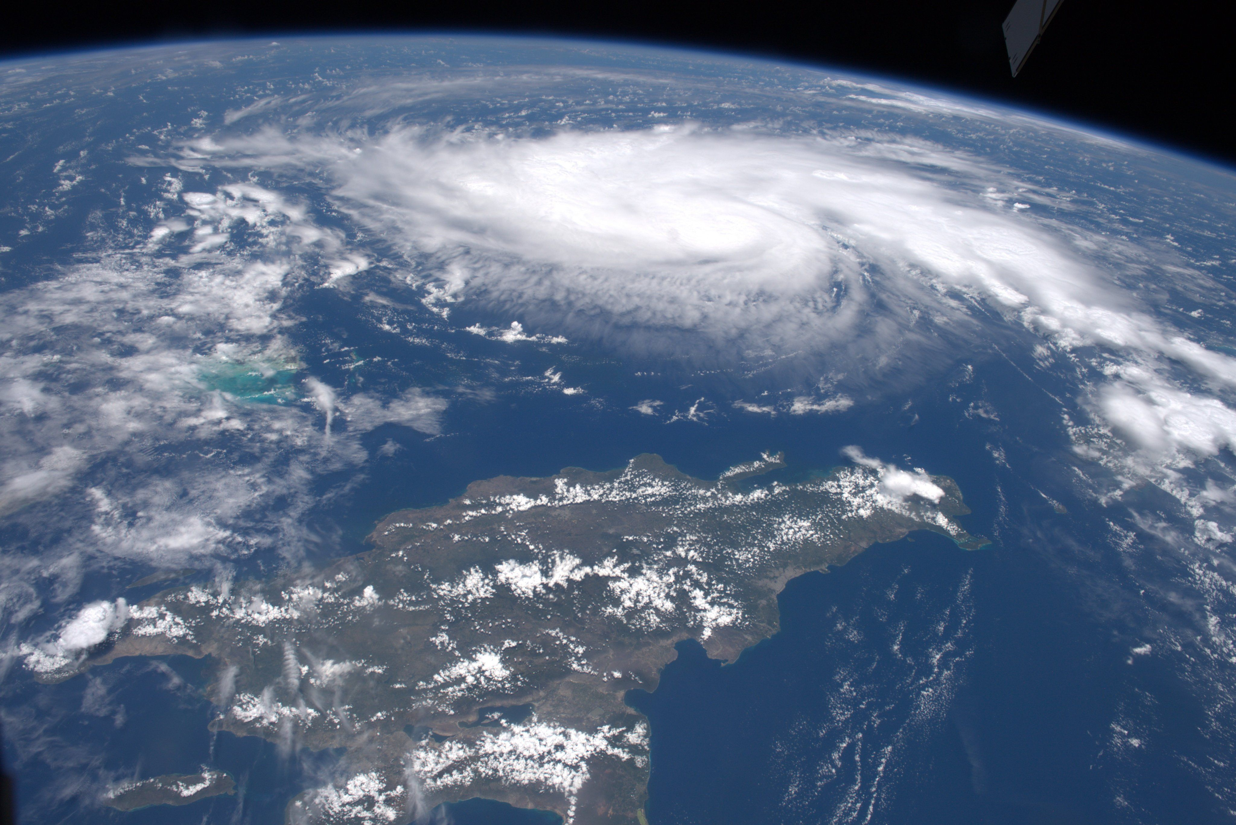 Hurricane Dorian Photographed From The International Space Station I Caught This Shot Yesterday As I Fort Wilderness Resort Hurricane Saratoga Springs Resort