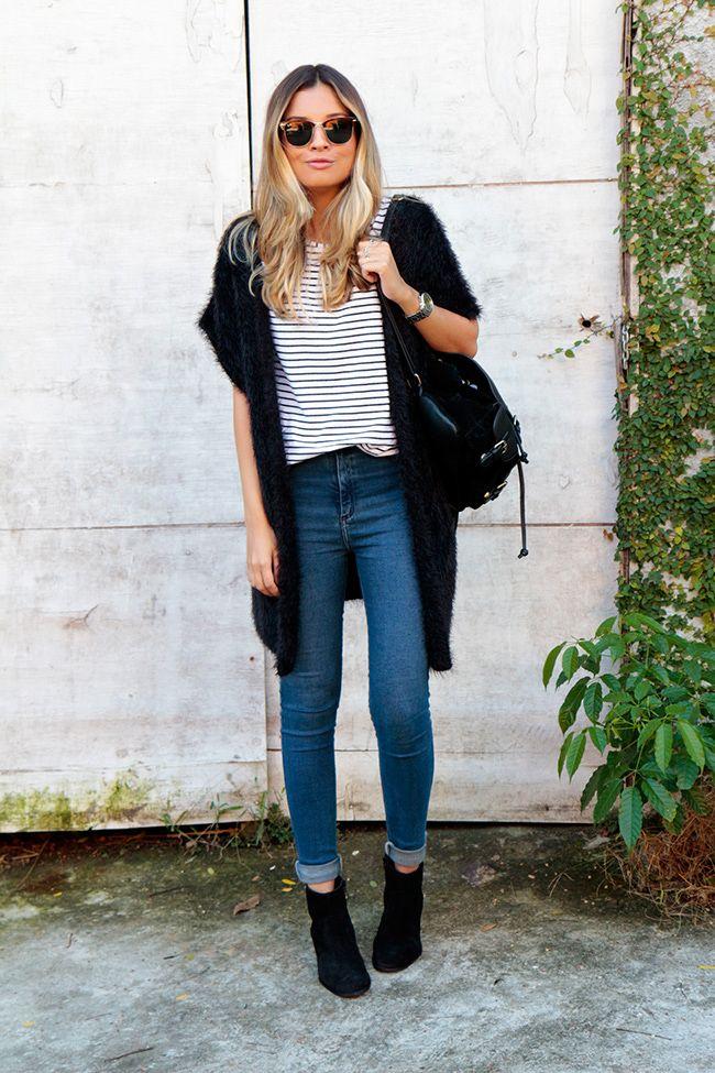 9bb3c26fc meu-look-colete-preto-bota-arezzo -cano-baixo-camurça-zara-Jessica_Velasco_Glam_style