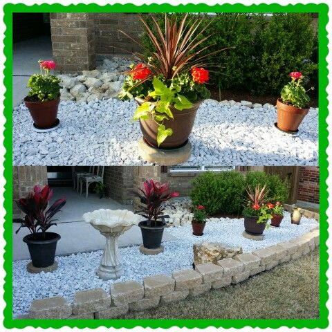 Inspirational White Marble Chips For Landscaping Ideas