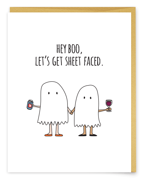 A Little Ghost And Booze Humor Halloween Isn T All For The Kids