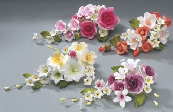 Cvety Iz Mastiki Na Tort Master Klass Gum Paste Flowers Flower Spray Flower Cake