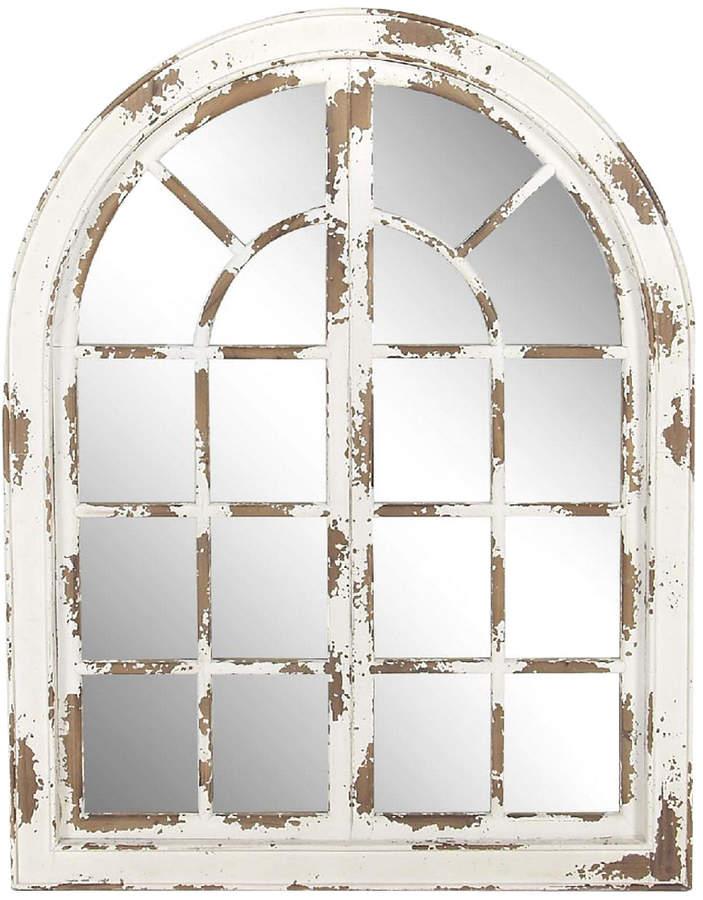 Uma Enterprises Classic Arched Window Design Decorative Wall Mirror Arched Wall Decor Framed