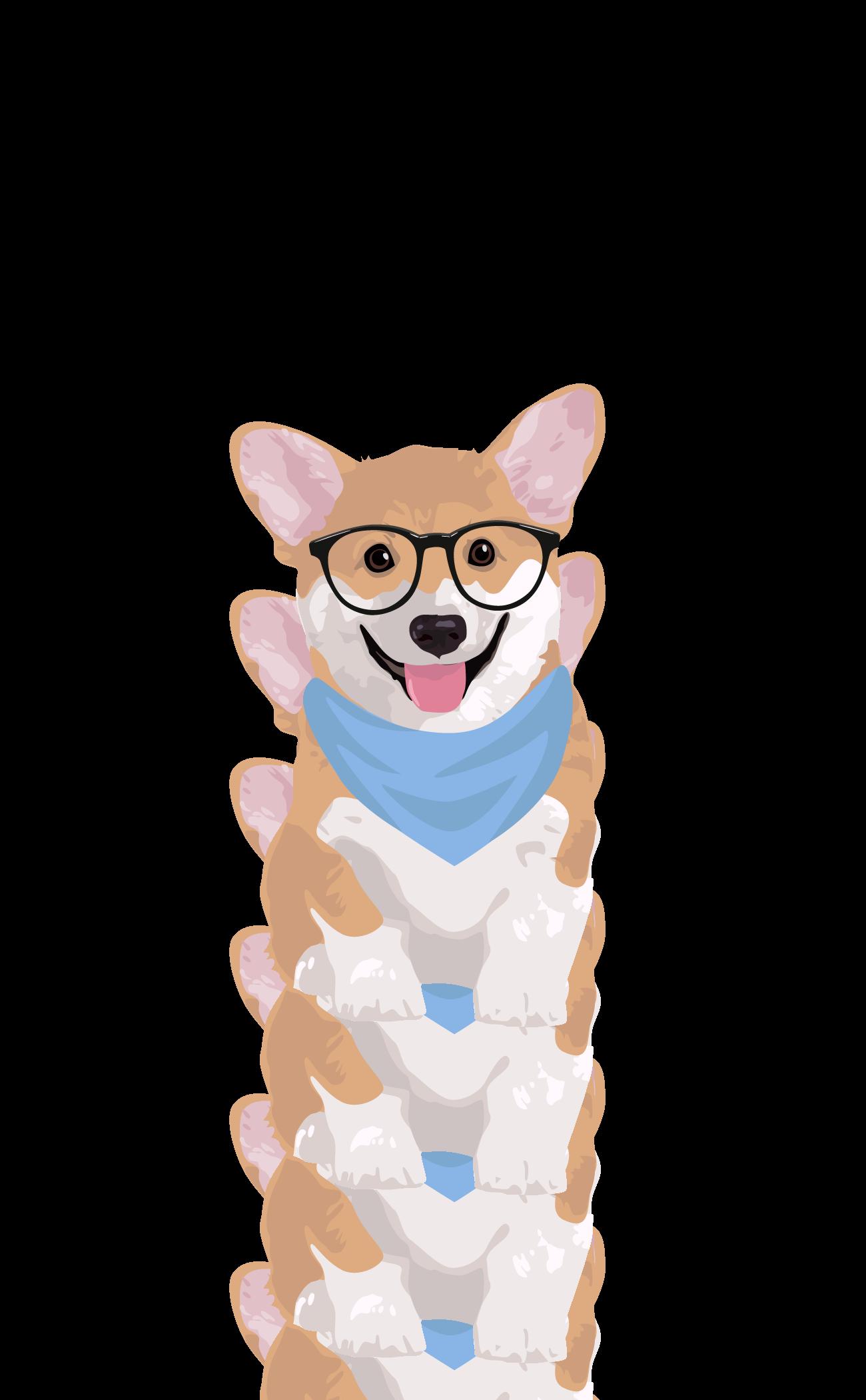 Hipster Corgi Casetify Iphone Art Design Illustration Dogs Animals Cute Cool Wallpaper Dog Wallpaper Iphone Corgi Art Cute Cartoon Wallpapers