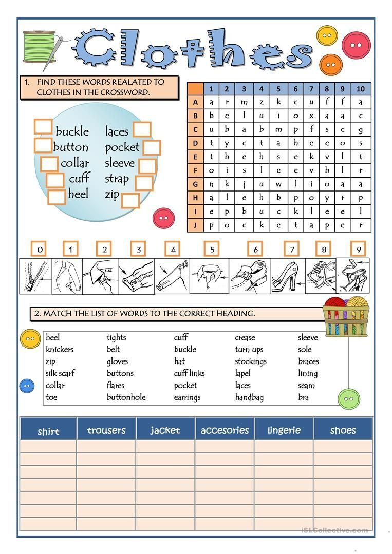 3 Worksheets Learning 5 Part 2 Clothes Part 1 Worksheet Free Esl Printable Worksheets Clothes Worksheet Social Studies Worksheets Printable Worksheets