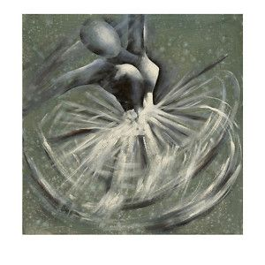 dancer ballet oil painting