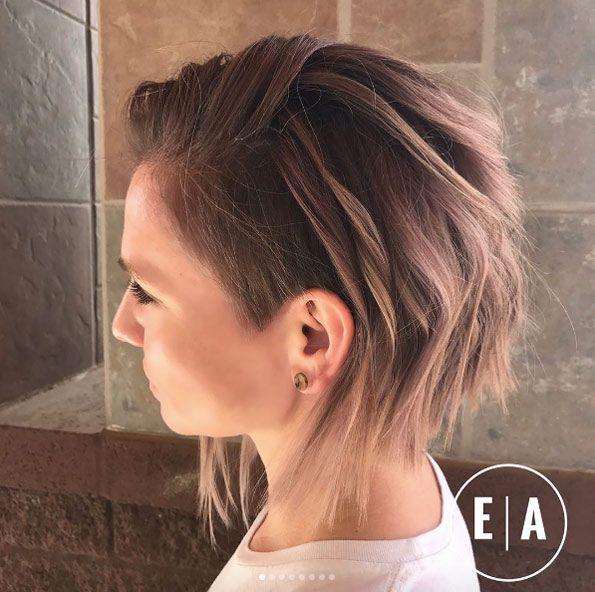 Textured Bob By Emily Anderson Coole Frisuren Kurzhaarfrisuren Frisuren Haarschnitte