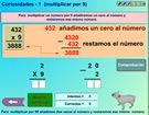 """Juego Educativo """"Multiplicar por 9"""". IDEAL PARA NIÑOS A PARTIR DE 8 AÑOS. #matematicas #primaria #infantil ► http://www.seclen.com/iniciar_juego.php?id_juego=307"""