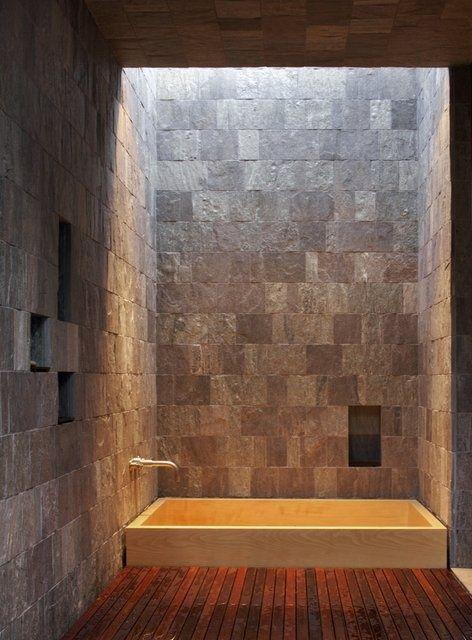 Photo Of  Amazing Raw Stone Bathroom Design Ideas DigsDigs