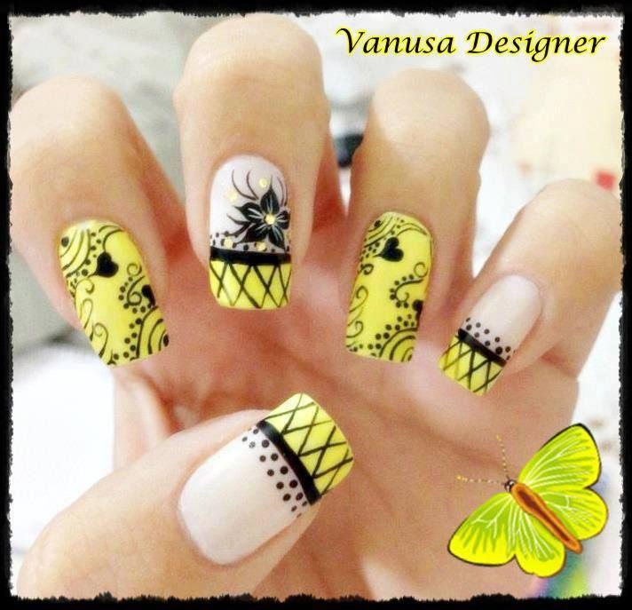 Pin de Zildeia Aquime en unha | Pinterest | Diseños de uñas, Diseños ...