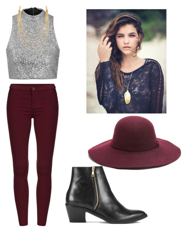 """""""Set#118"""" by anneclo2 on Polyvore featuring Topshop, H by Hudson and White House Black Market"""
