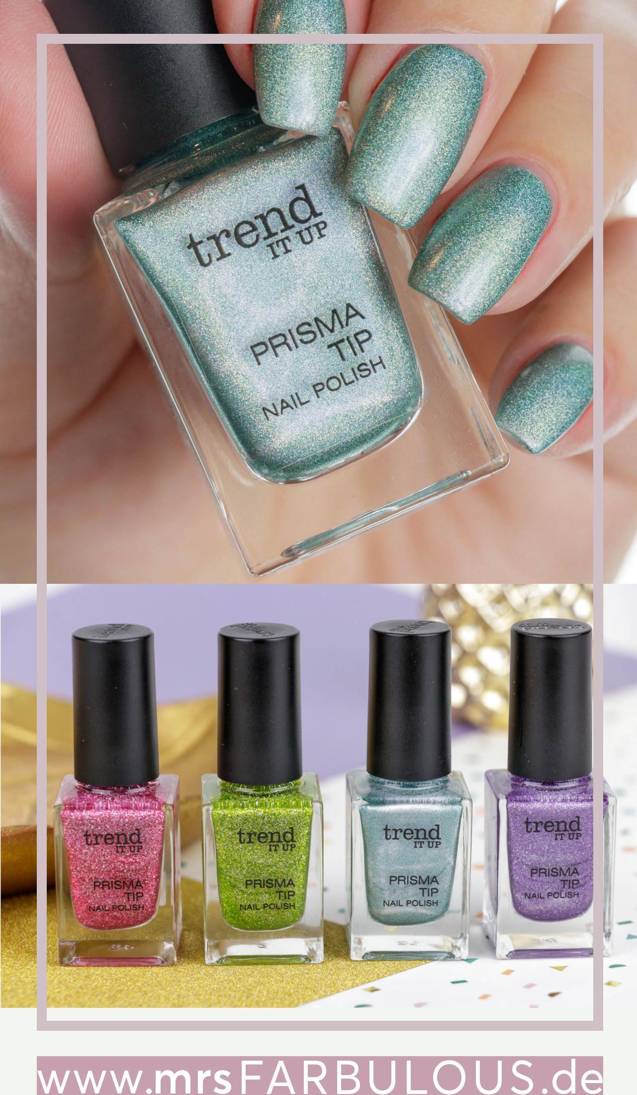 Trend it up prisma tip nagellack tragebilder nails - Nagellack designs ...