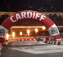 HMG Paints + Sport = Winning Partnership, Cardiff Wales Rally GB