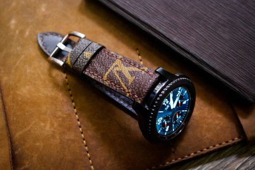 Lv Straps For Samsung Gear S3 Leather Band Watch Bands