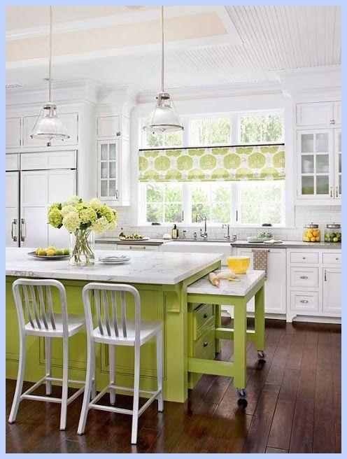 10 schöne Farbenschemas für die moderne Küche - Haus und Garten - küche dekorieren ideen